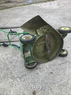 John Deere 21 inch rough cut side discharge self propelled mower