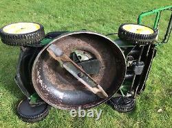 John Deere JS63V Mulching Mower Variable Self Propelled mower 21in Cut Serviced