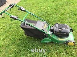 John Deere R43RVE Self Propelled Rear Roller Petrol Lawnmower With Elec. Start