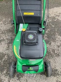 John Deere R54 RKB Self Propelled Rear Roller Petrol Lawnmower with Grass Bag