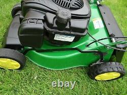 John Deere RUN lawnmower self propelled