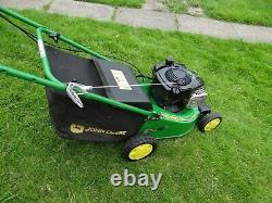 John Deere RUN lawnmower self propelled mower
