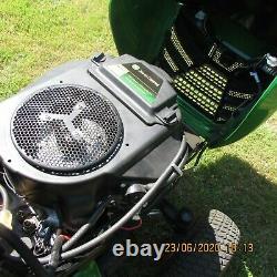 John Deere ride on mower x350r V twin Kawasaki engine self propelled petrol