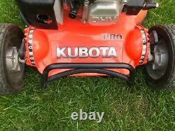 Kubota W819r Pro Self Drive Roller Lawn Mower