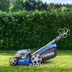 Lawnmower Petrol Self Propelled Lawn Mower ELECTRIC START 196cc 51cm HYM510SPE