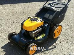 MCCULLOCH M53 LARGE 6.25hp SELF PROPELLED petrol lawnmower. CLEAN CONDITION