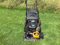 McCulloch self propelled petrol lawnmower