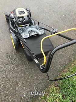 Mcculloch 18 Self Propelled Petrol Lawnmower with Grass Bag