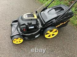 Mcculloch 18 Self Propelled Petrol Lawnmower with Grass Bag Mulch