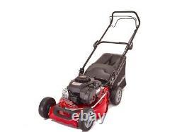 Mountfield SP185 46cm 125cc Briggs Self-Propelled Petrol Lawn Mower Garden Grass