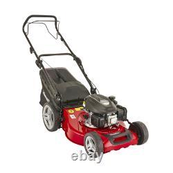 Mountfield SP51 145cc Self Propelled Petrol Lawn Mower 51cm Cut 60 L Grass Box