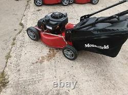 Mountfield Sp185 46cm 125cc Self-propelled Rotary Petrol Lawn Mower Ex Display