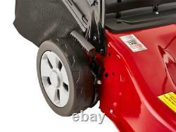 Mountfiled SP45 Lawnmower 123cc Self Propelled Petrol Mower Grass Box Lawn