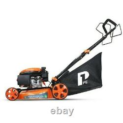 P1PE P4600SP Self Propelled Petrol Lawnmower 18 46cm 139CC GRADED