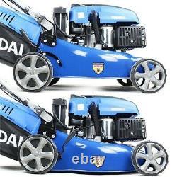 Petrol Lawn Mower Electric Start Self Propelled Lawnmower 139cc 17 43cm 430mm