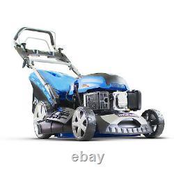 Petrol Lawn Mower Electric Start Self Propelled Lawnmower 46cm 460mm 18