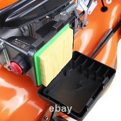 Petrol Lawn Mower Electric Start Self Propelled Mulch Lawnmower 139cc 18 46cm
