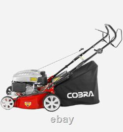 Petrol Lawnmower 18 Self Propelled Cobra M46 Spc New Running Ready To Go