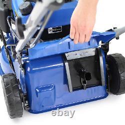 Petrol Lawnmower Self Propelled Lawn Mower 17 43cm Hyundai 3 YR WARRANTY OIL