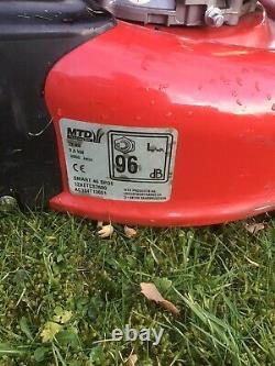 Petrol Self Propelled Electric Start Lawnmower MTD SMART46 SPOE