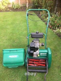 Qualcast Classic 35S Petrol Self Propelled mower and scarifier cassette