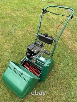 Qualcast Classic 35s Petrol Lawnmower Self Propelled BOSCH Suffolk Punch