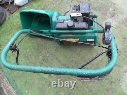Qualcast Classic 35s self Propelled lawnmower Cylinder Roller petrol