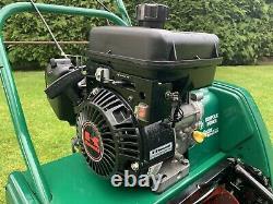 Qualcast Suffolk Punch 14SK Self Propelled Kawasaki Petrol Cylinder Lawn Mower