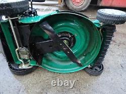 Qualcast XSZ46G-SD-E Self Propelled Keystart Petrol Rotary Lawnmower 46cm Cut