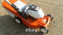 Stihl RMA448TC Battery self propelled Lawn Mower Lawnmower bare tool