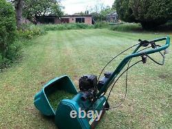 Suffolk Punch 14 Qualcast 35s Lawnmower Petrol Cylinder Mower 14s Self Propelled