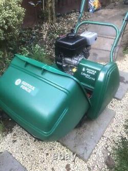Suffolk Punch 17SK Self Propelled Petrol, Cylinder Mower, Scarifier, Qualcast
