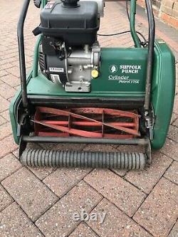 Suffolk Punch 17sk Self Propelled Petrol Cylinder Lawn Mower