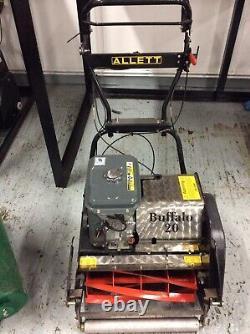 Used Allett Mower Buffalo 24 Self-Propelled Professional Cylinder Lawnmower
