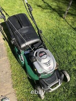 Used rotary self propelled petrol lawn mower