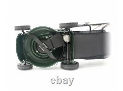 Webb WER410SP Classic 41cm Self-Propelled Petrol Lawn Mower FREE 0.6L SAE30 OIL
