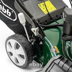 Webb WER460ES Classic Self Propelled Electric Start Petrol Rotary Lawnmower 460m