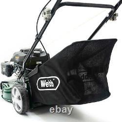 Webb WER460SP Classic 46cm (18) Self Propelled Petrol Rotary Lawnmower